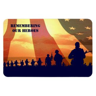私達の英雄の記憶。 軍のギフトの磁石 マグネット