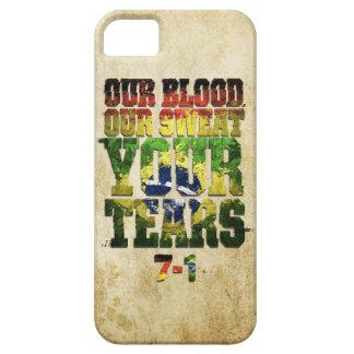 私達の血、私達の汗、あなたの破損ドイツ対ブラジル iPhone SE/5/5s ケース