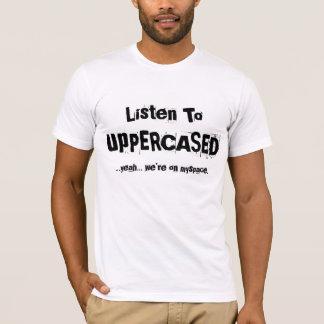 私達の話をTシャツを聞いて下さい Tシャツ