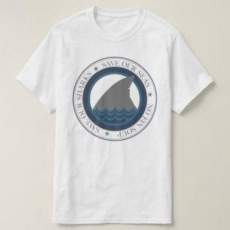 私達の鮫を救って下さい Tシャツ