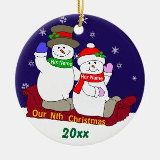 私達のn番目クリスマス セラミックオーナメント