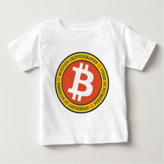 私達のBitcoinのロゴのタイプ04 ベビーTシャツ