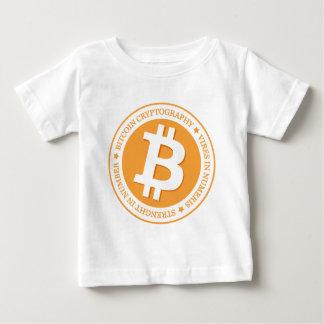 私達のBitcoinのロゴのタイプ06 ベビーTシャツ