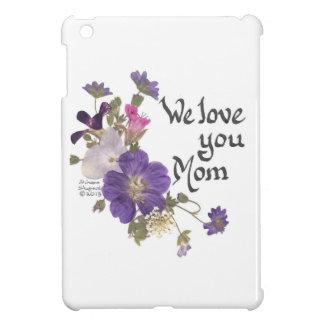 私達はお母さんのギフト愛します iPad MINIカバー