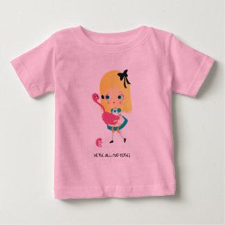私達はここにすべての不機嫌います! ベビーのTシャツ ベビーTシャツ