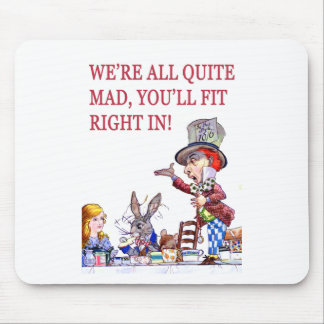 私達はすべてのかなり気違いの正しく合いますです! マウスパッド