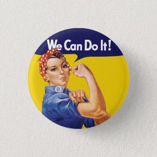 私達はそれをしてもいいです! Rosieリベッター 3.2cm 丸型バッジ