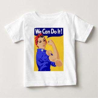 私達はそれをしてもいいです! RosieリベッターWWIIポスター ベビーTシャツ
