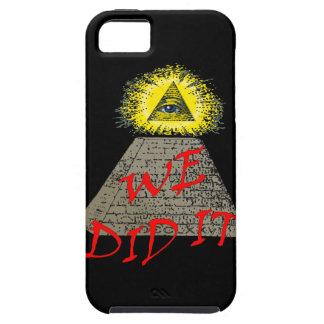 私達はそれをしました(illuminati) iPhone SE/5/5s ケース
