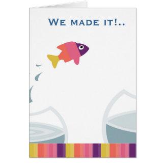 私達はそれを作りました カード