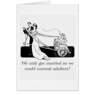 私達はただ…結婚しました カード