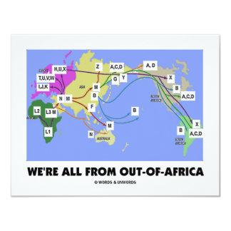 私達はですのアフリカ(Haplogroup)からのすべて カード