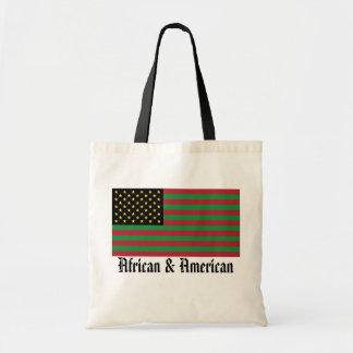 私達はアメリカのすべての-アフリカ及びアメリカのトートです トートバッグ