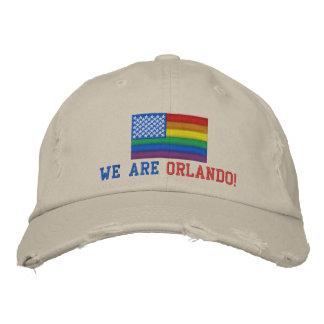 私達はオーランドです! カスタムで動揺してな野球帽 刺繍入りキャップ
