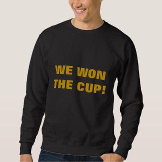 私達はコップに勝ちました! スウェットシャツ