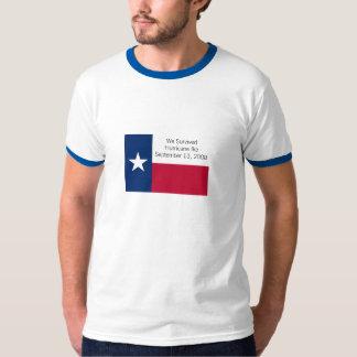 私達はハリケーンのIkeのTシャツを生き延びました Tシャツ