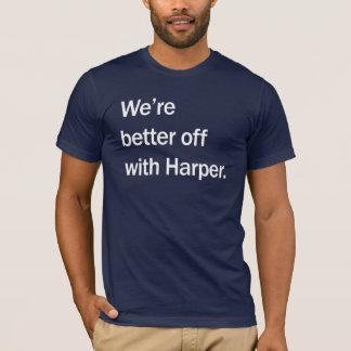 私達はハープ奏者とより良い状態になります Tシャツ