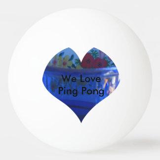 私達はピンポン球を愛します 卓球ボール