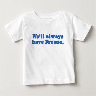 私達はフレズノクラシックなTVラインを常に有します ベビーTシャツ