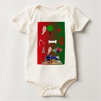 私達はメリークリスマスを望みます ベビーボディスーツ