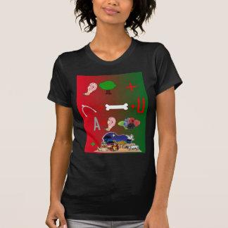 私達はメリークリスマスを望みます Tシャツ