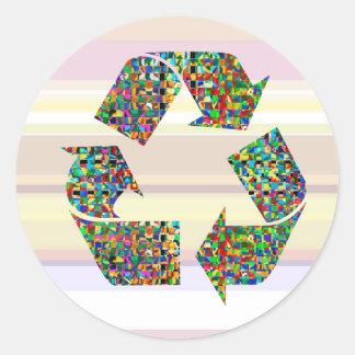 私達はリサイクルのチャンピオンを崇拝します ラウンドシール