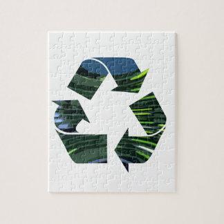 私達はリサイクルのチャンピオンNVN253の環境のおもしろいを崇拝します ジグソーパズル