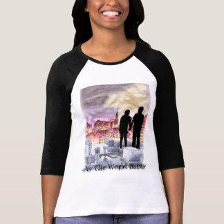 私達は世界としてこのoriginal21に、…一緒にあります tシャツ
