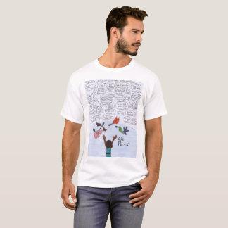 私達は主張します Tシャツ