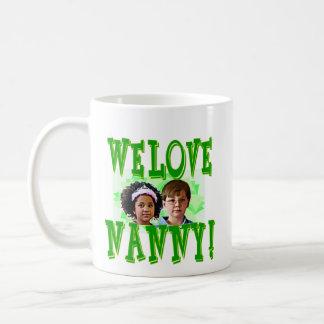 私達は乳母を愛します! コーヒーマグカップ