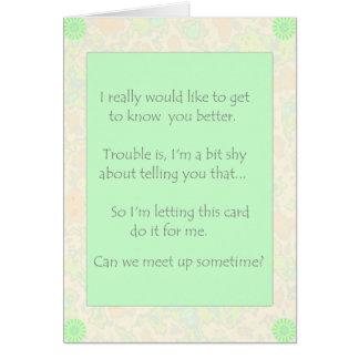 私達は会いますの上で…できます カード