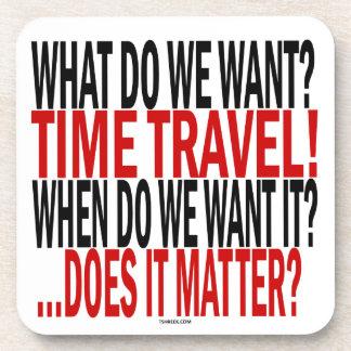 私達は何がほしいと思いますか。 時間旅行! コースター