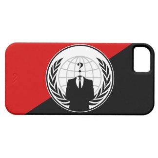 私達は匿名の無政府主義者の旗です iPhone SE/5/5s ケース