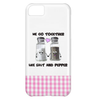 私達は塩およびコショウのように一緒に行きます iPhone5Cケース