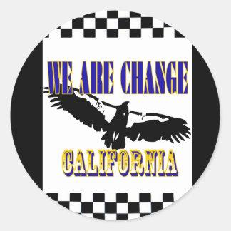 私達は変更のカリフォルニアコンドルです ラウンドシール