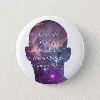 私達は宇宙です 5.7CM 丸型バッジ