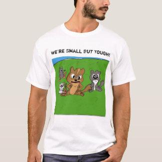 私達は小さく堅くないですではない。 Tシャツ