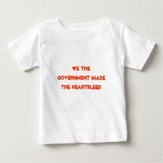 私達は政府heartbleed作りました ベビーTシャツ