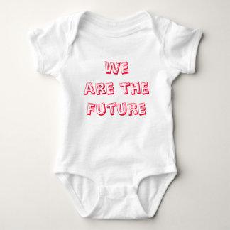 私達は未来です ベビーボディスーツ