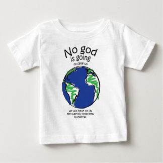 私達は私達自身世界の問題を解決しなければなりません ベビーTシャツ