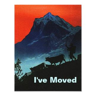 私達は移動動かされた高山の牧夫のTranshumanceを有します カード