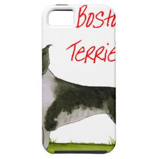 私達は贅沢なfernandesからのボストンテリアをlove iPhone SE/5/5s ケース