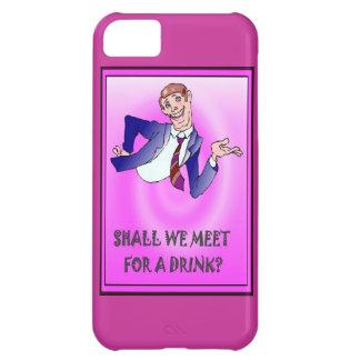 私達は飲み物のために会いましょうか。 iPhone5Cケース