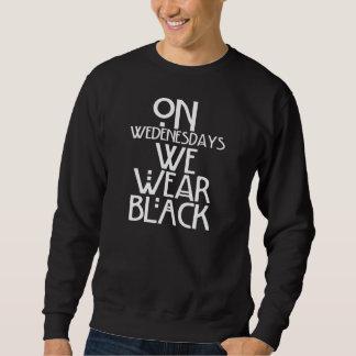 私達は黒を身に着けています スウェットシャツ