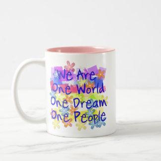 私達は1人です ツートーンマグカップ