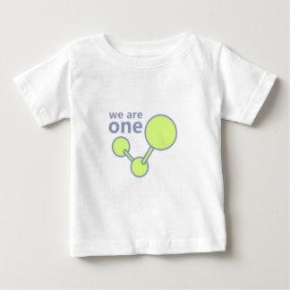 私達は1才-量の真実です ベビーTシャツ