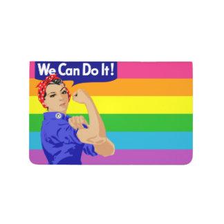 私達は(陽気な旗のデザイン)小型ジャーナルそれをしてもいいです ポケットジャーナル
