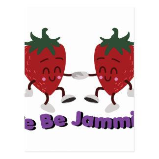 私達はJamminです ポストカード
