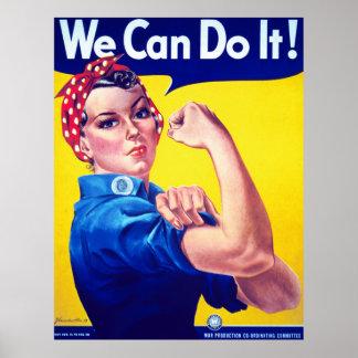 私達はRosieリベッターの特大ポスターそれをしてもいいです ポスター