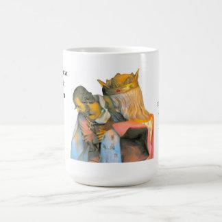 私達をベスレヘムに今行くことを許可して下さい コーヒーマグカップ